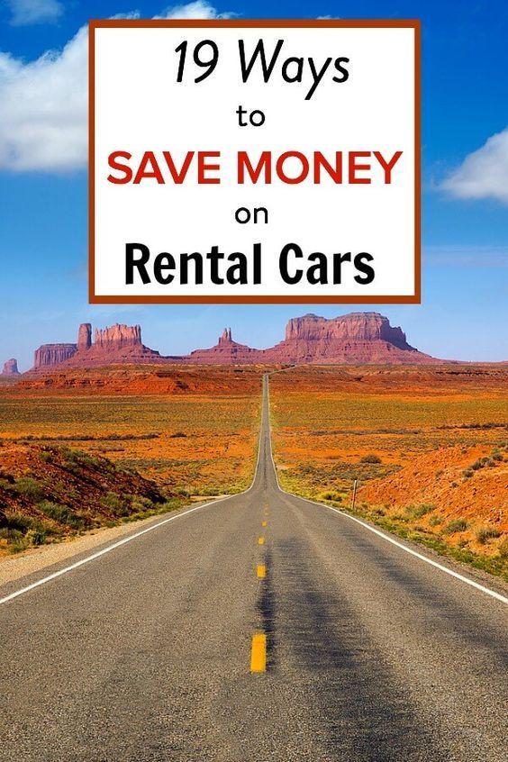 Finding Cheap Rental Cars Car rental, Road trip hacks