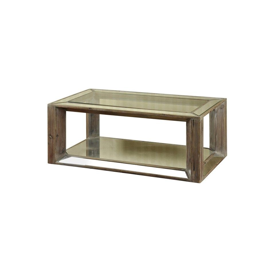 Style Craft Mirrored Coffee Tables Coffee Table Distressed Wood Coffee Table [ 960 x 960 Pixel ]