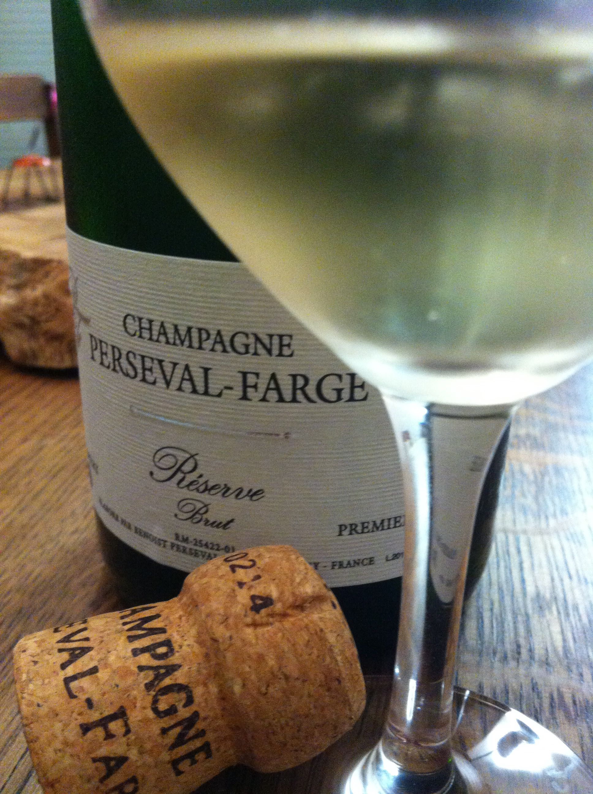 La Réserve Brut de la  Maison de Champagne Perseval-Farge 1er Cru #champagne #caveosaveurs