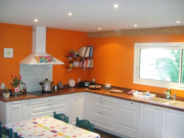 Peinture Cuisine Orange Bg Concept RÃnovation Appartement Lyon - Salle a manger marina pour idees de deco de cuisine
