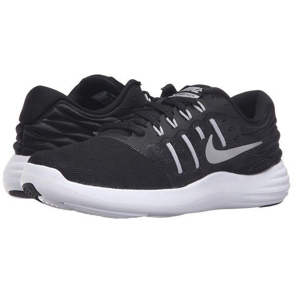 e67d6e695915 Nike Lunarstelos (Black Metallic Silver Anthracite White) Women s ...