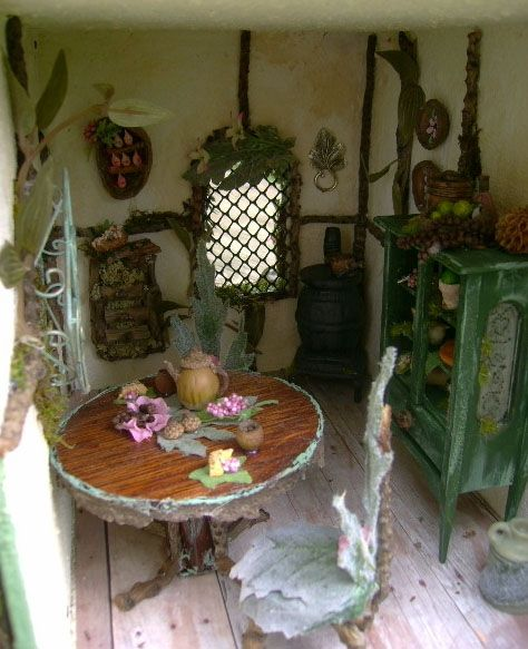 The Fantasy Forest: The Sage Fairy House ~ Julie McLaughlin