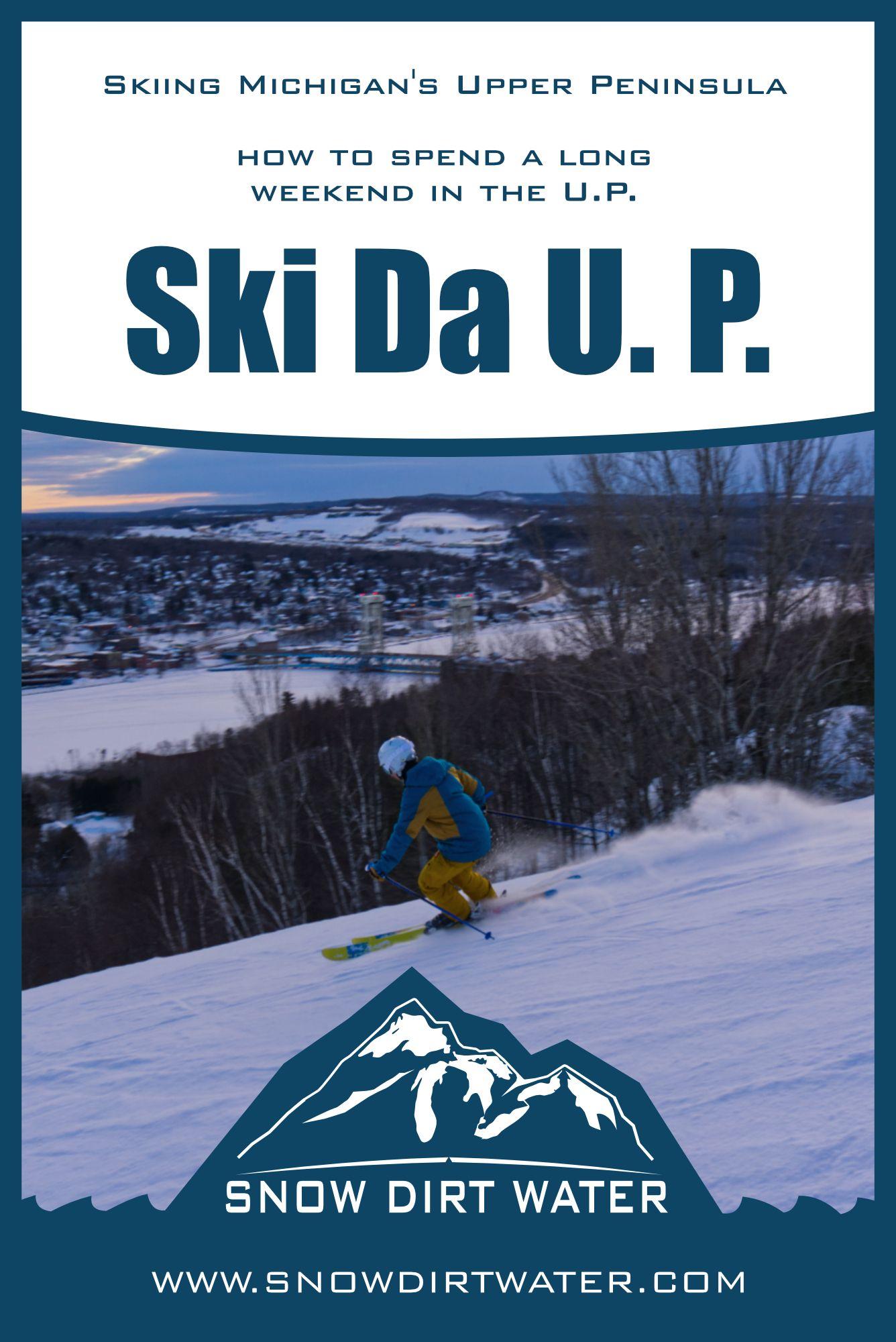 Ski The Michigan Upper Peninsula (4 days, 5 resorts) in