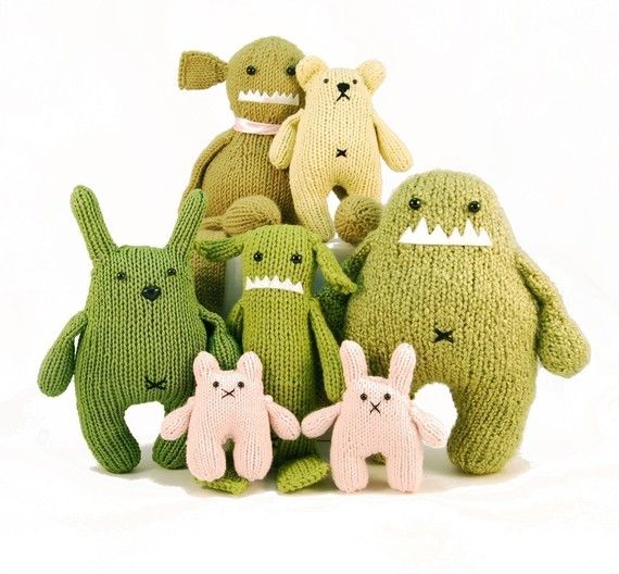 Familia de monstruos | cosas que me gustan | Pinterest | Juguetes ...