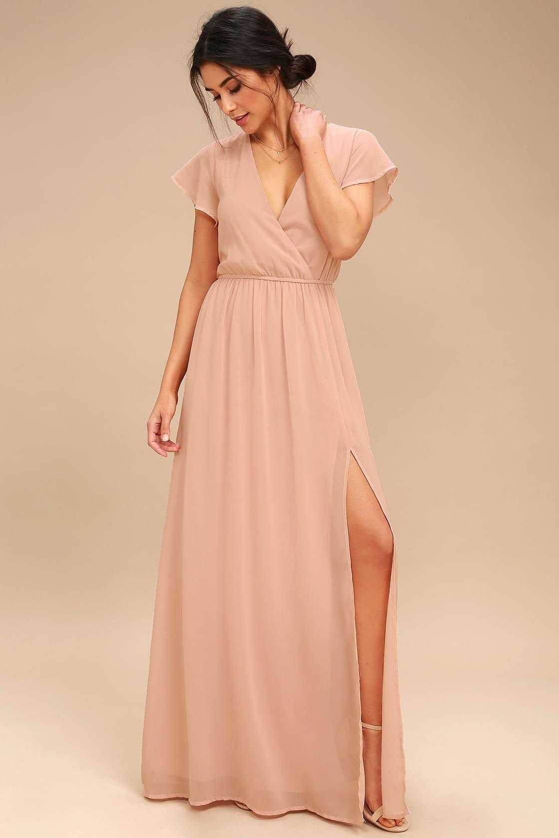 44+ Blush maxi dress ideas in 2021
