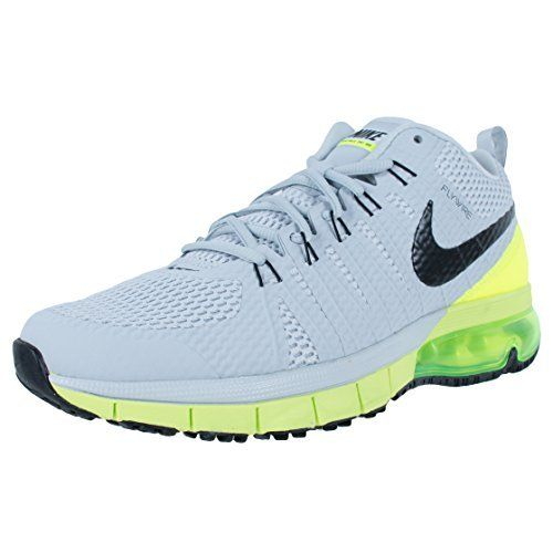 e043b497de Nike Mens Air Max TR 180 Training Shoes Pure PlatinumVoltBlack 723972007  Size 10 >>> Details can be found by clicking on the image.