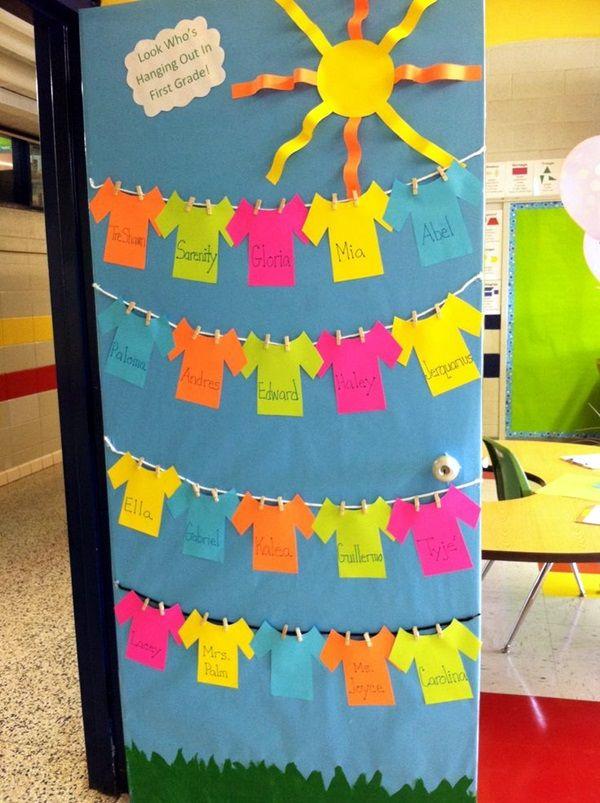 40 Excellent Classroom Decoration Ideas | School door ...