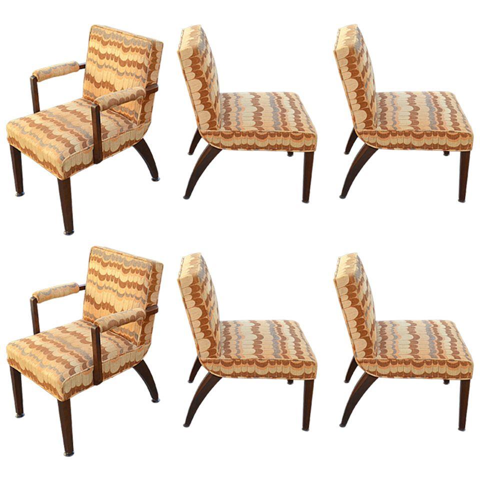 gilbert rohde for herman miller set of six dining chairs - Set Of Six Dining Room Chairs