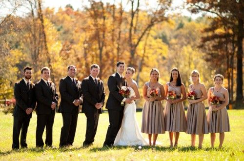 Elegant And Rustic Fall DIY Asheville Wedding