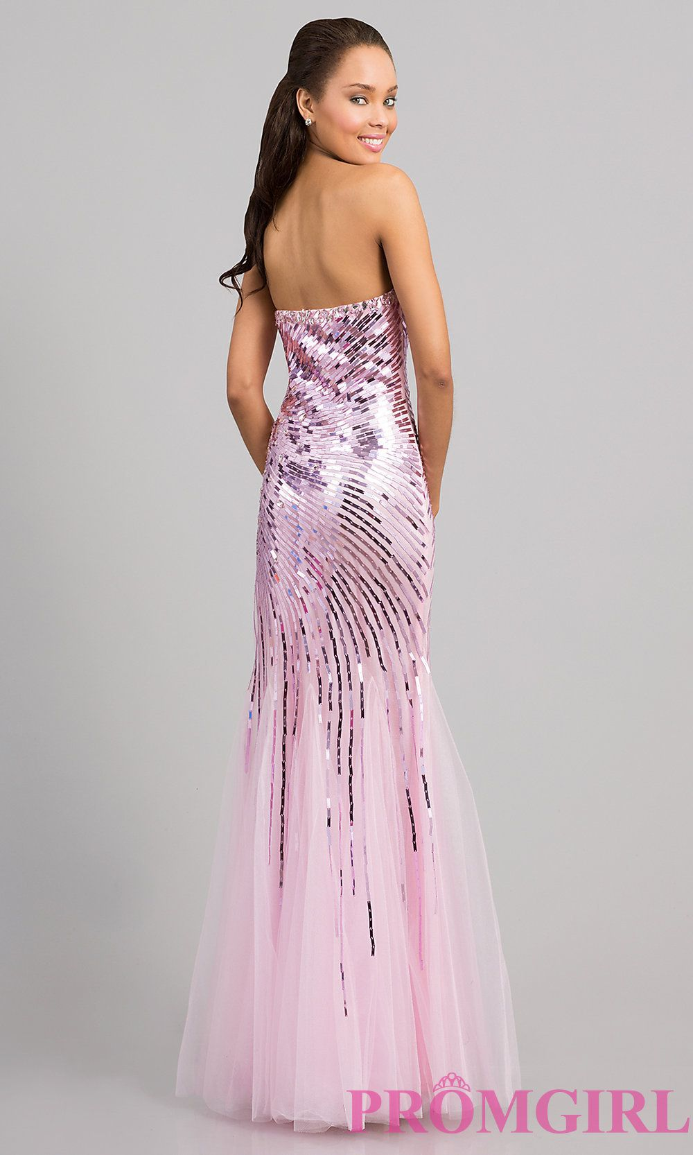 Long Prom Dress Style: DQ-8646 Detail Image 3