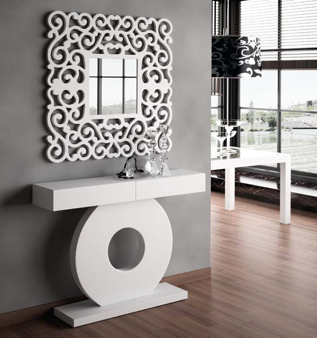 Maison Contemporaine à La Décoration Brute: Miroir CASSANDRA. Décoration Beltran, Votre Magasin Online