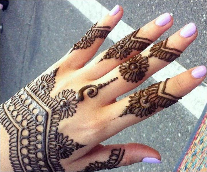 Mehndi Designs For Hands Simple : Simple mehndi designs that look fab and stylish mehandi