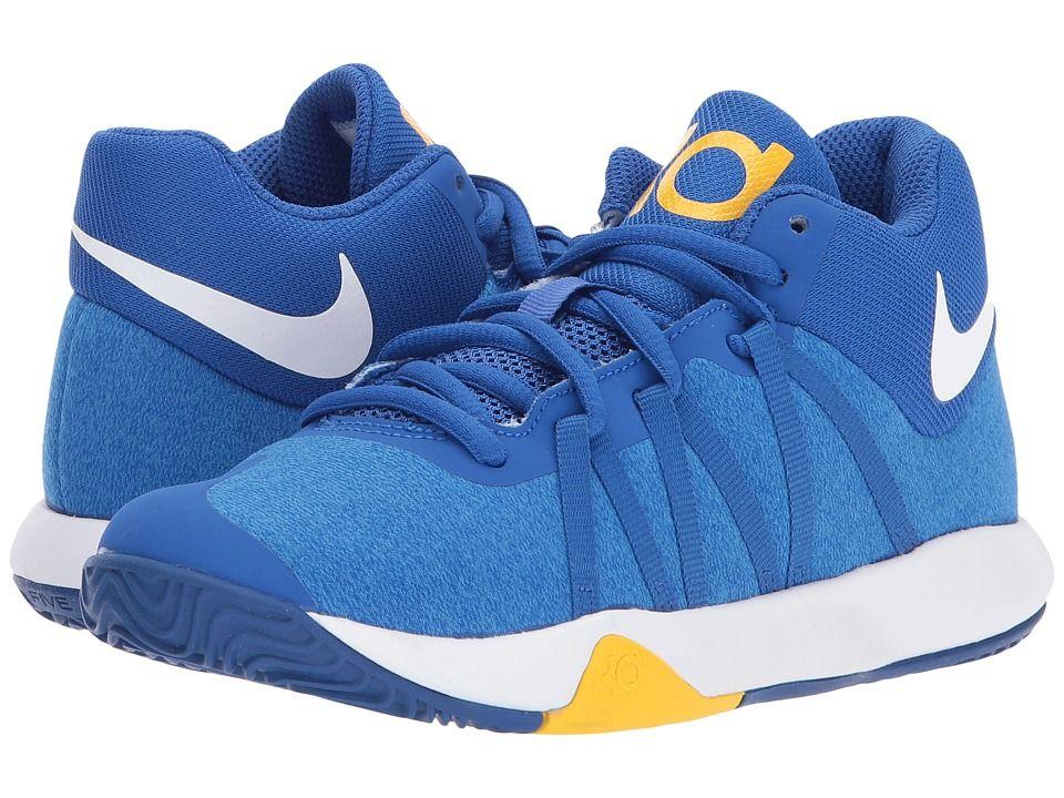 best sneakers 9bc45 be2ce Nike Kids KD Trey 5 V (Little Kid) Boys Shoes Royal Blue White University  Gold