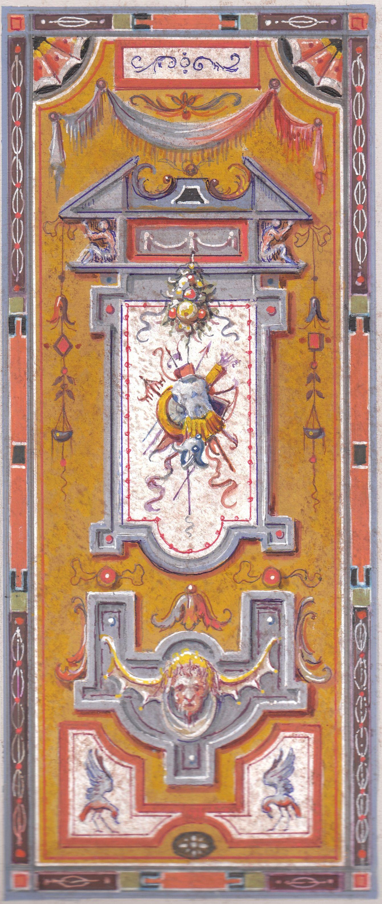 Grottesche sketch itsy bitsy tini wini printables of for Arredamento artistico