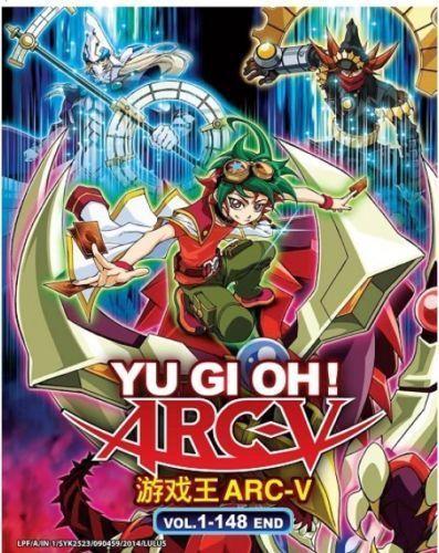 Dvd Japan Anime Yu Gi Oh ! Arc-V ( Vol  1-148 End ) English