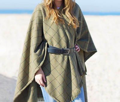 Winter Wool DIY Cape -   19 DIY Clothes For Winter fabrics ideas