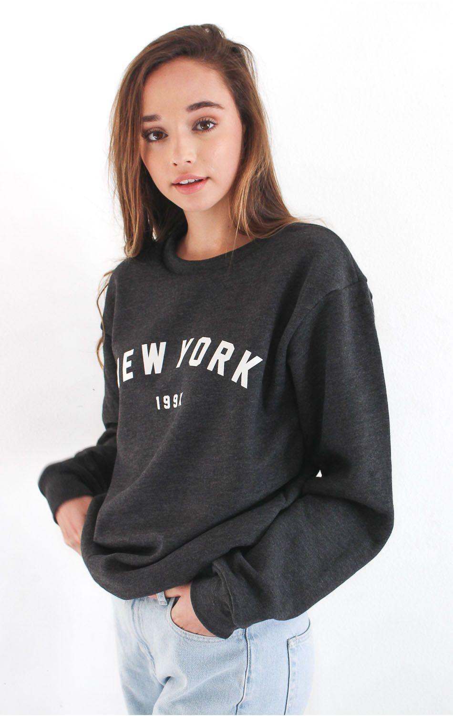 New York 199x Sweater Nyct Sweatshirts Sweaters Sweatshirt Fleece [ 1500 x 950 Pixel ]