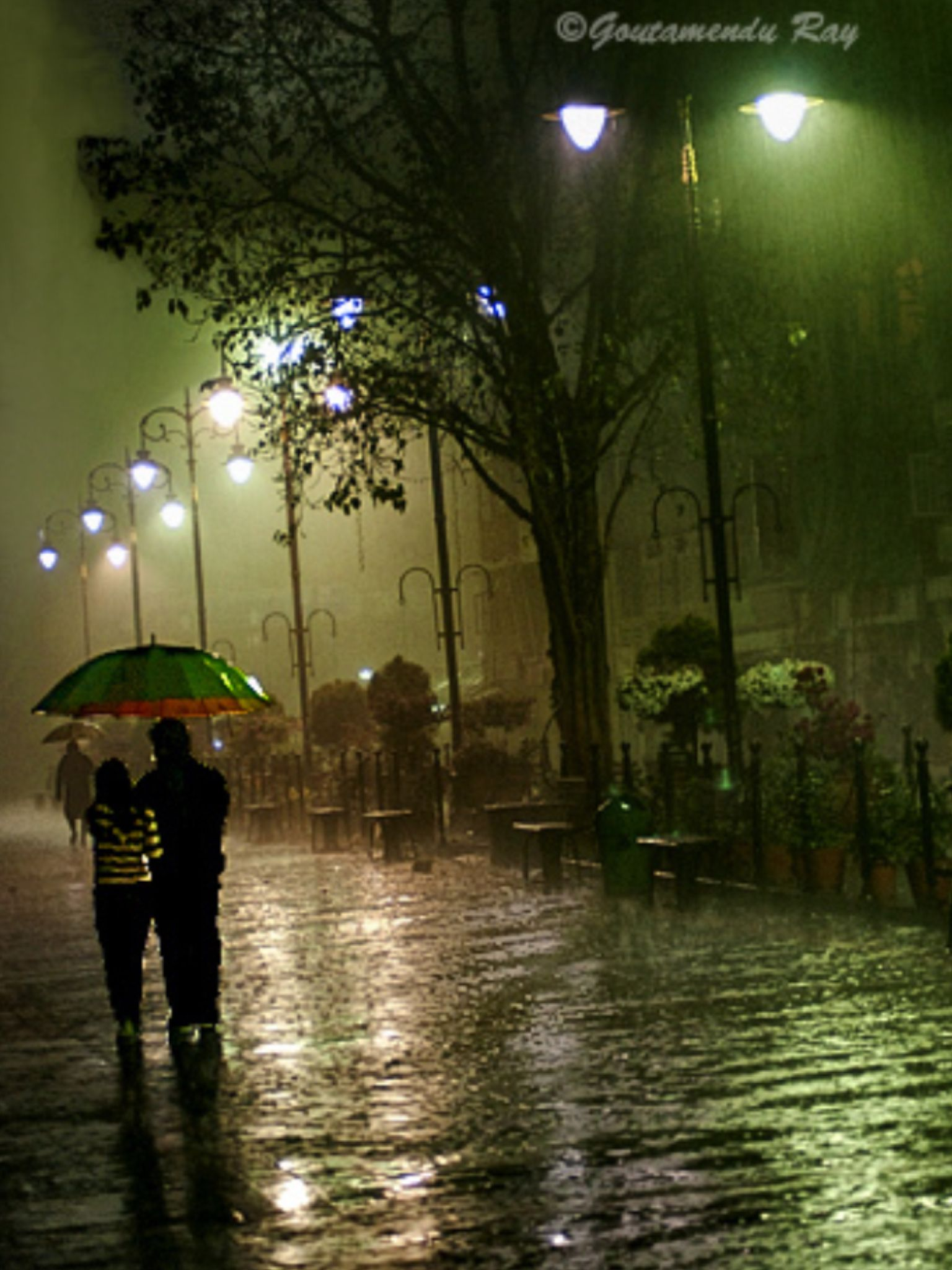 Rain Photography, Rainy Night, Rain Photo