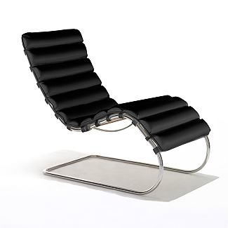 Mies Van Der Rohes MR Chaise Lounge For Knoll At DWR
