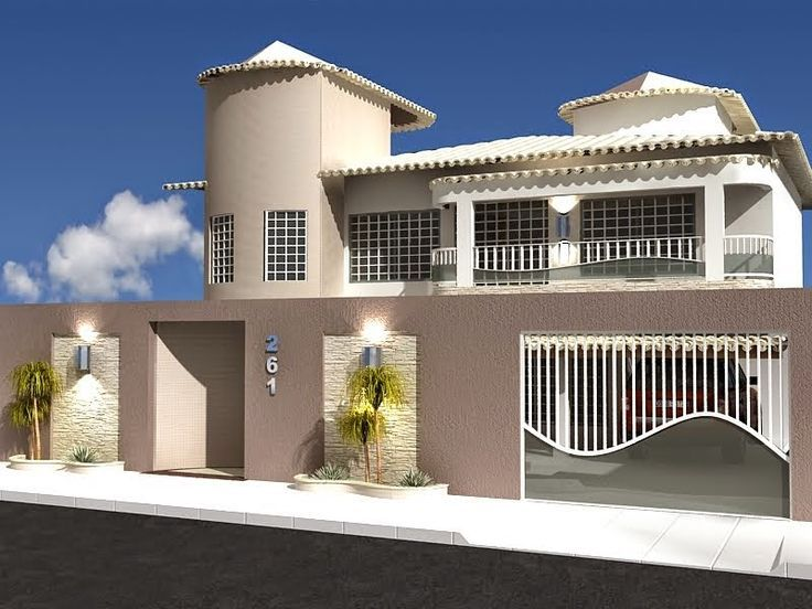 Muros modernos fachadas modernas casas modernas pintura - Pinturas de casas modernas ...