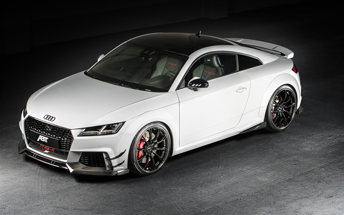 Download Wallpapers Audi Tt Rs 4k 2019 Cars Supercars White Tt Rs German Cars Audi Besthqwallpapers Com Audi Tt Rs Audi Tt 2017 Audi Tt