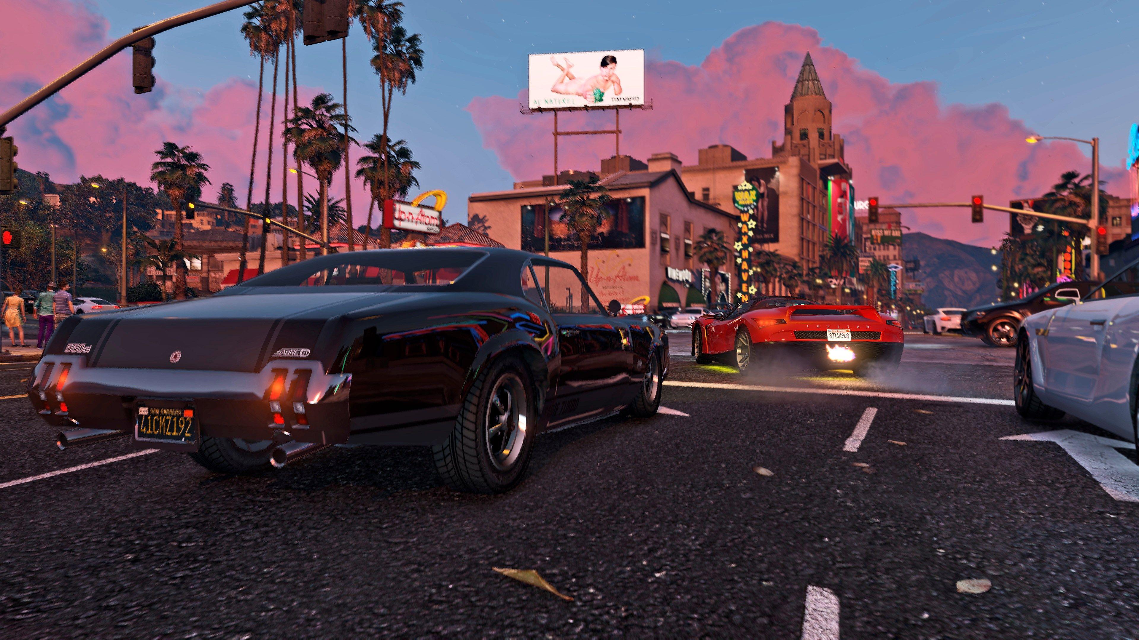 K Wallpaper Grand Theft Auto V X
