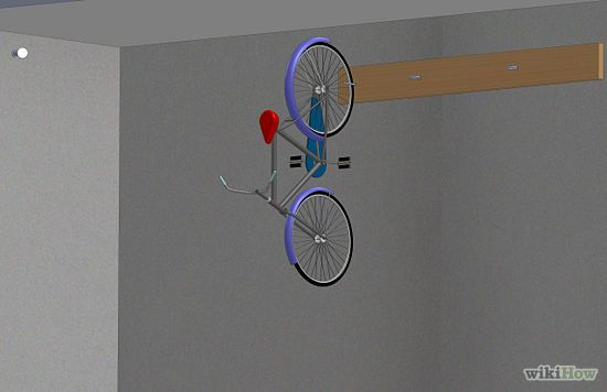 3 Ways to Hang a Bike on the Wall - wikiHow