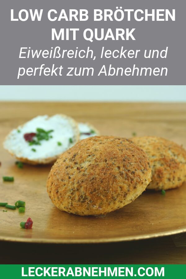 Photo of Fluffige Low Carb Brötchen