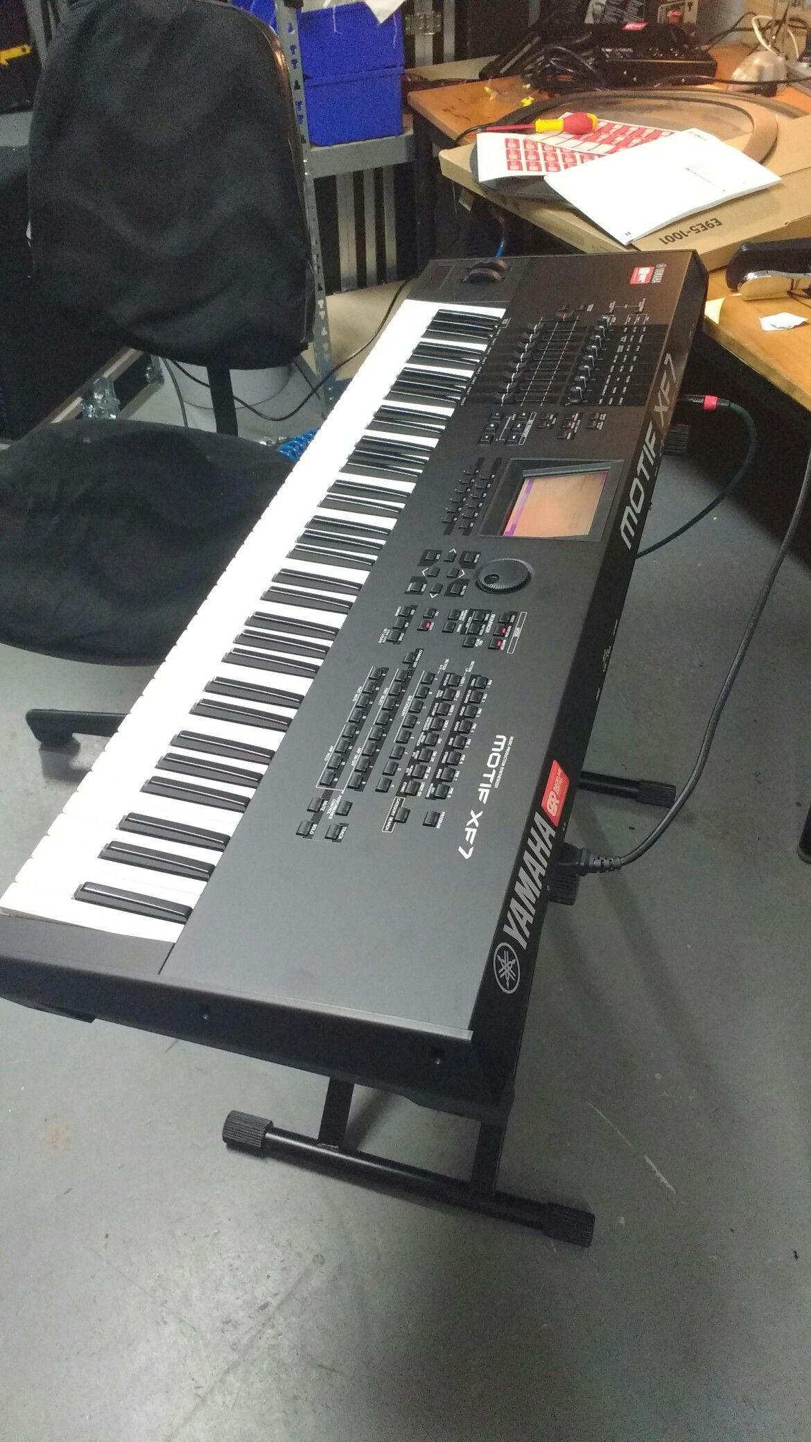 Yamaha Motif XF 7 | Music Production Hardware in 2019