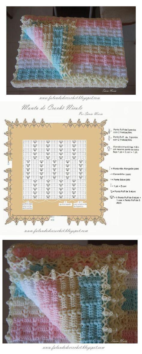 Crochet Wrap Up Hooded Baby Bl | .marley | Pinterest | Manta bebé ...