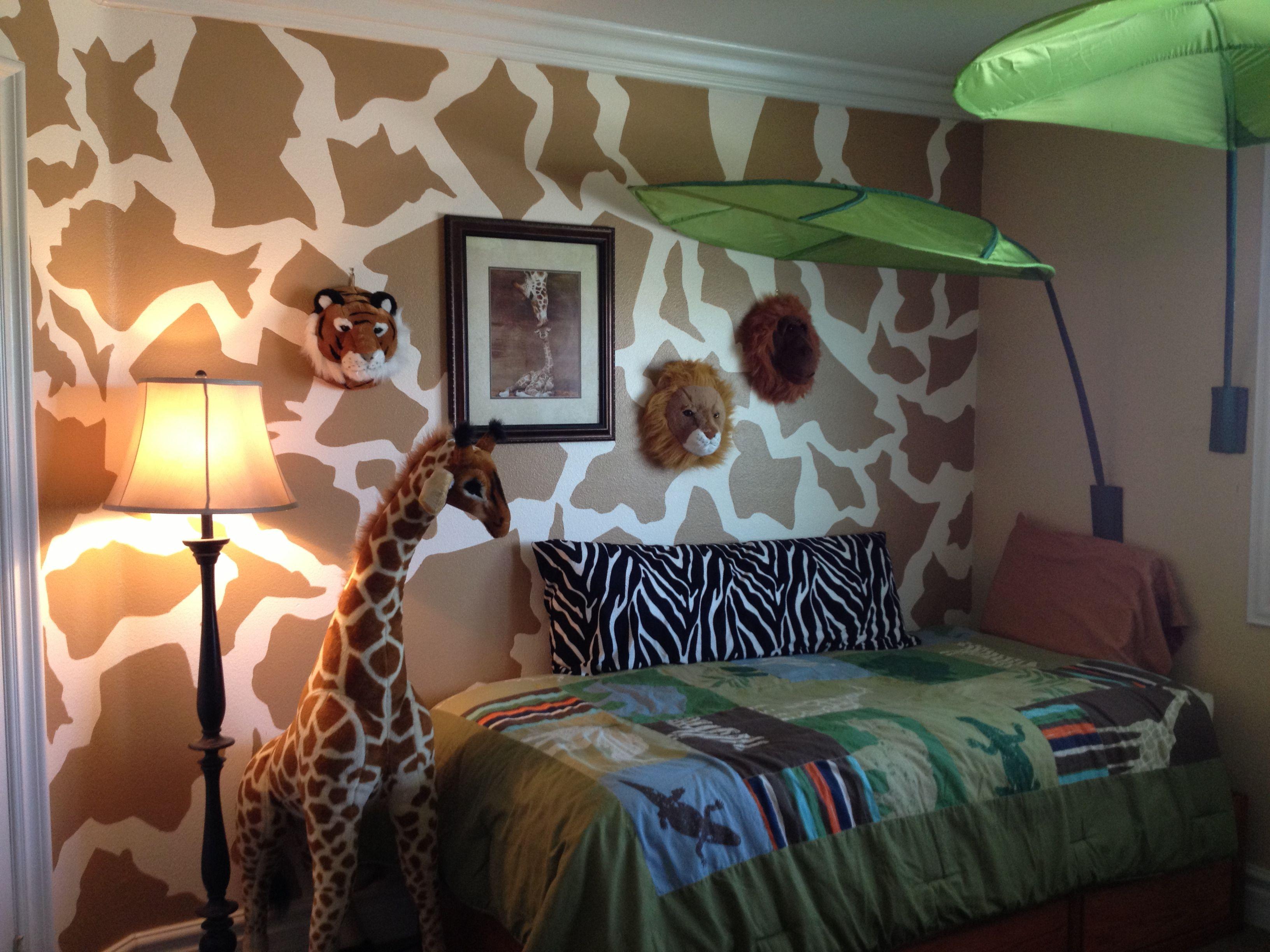 Kids Love Themed Bedroom Sets: Kids Jungle Room-ikea Leaf 14.99