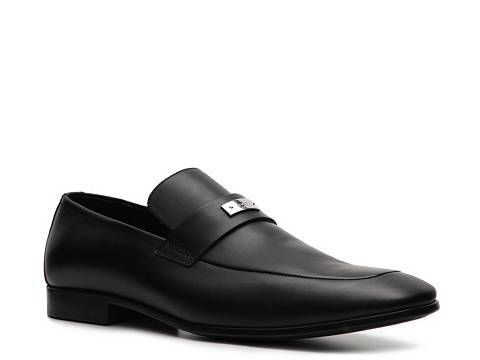 Gucci Leather Nameplate Loafer Mens Gucci Mens Brands Luxe810