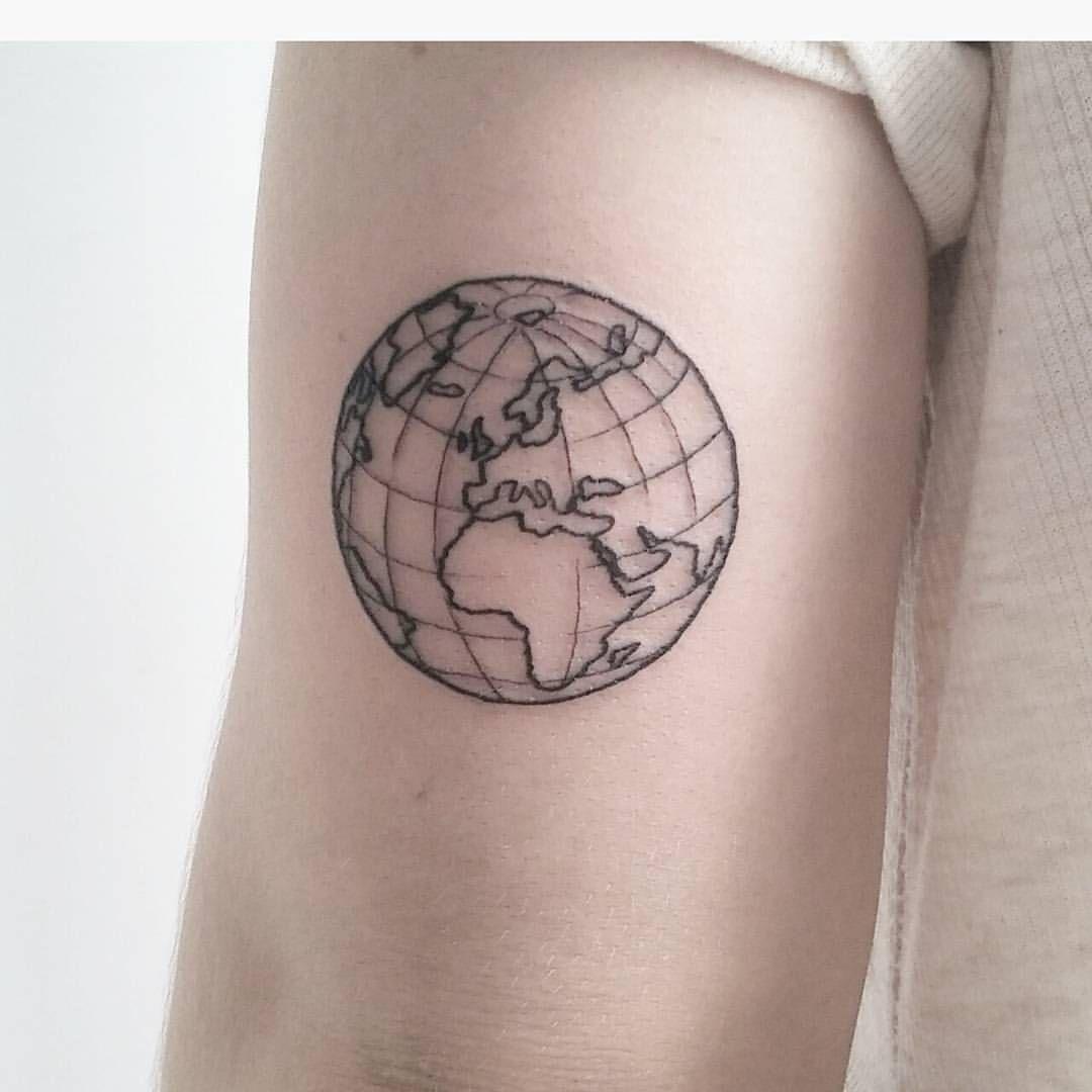 Tattoo Tatuaje Mundo