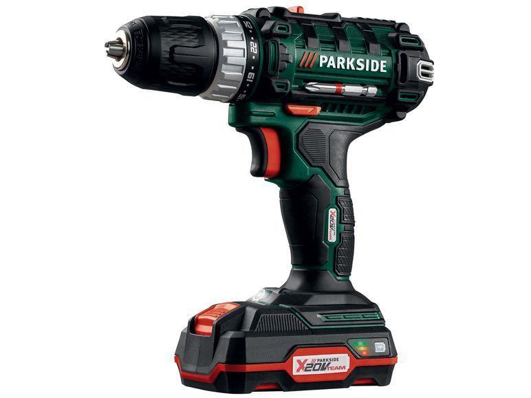 Parkside Akku Bohrschrauber Pabs 20 Drill Power Drill Tools
