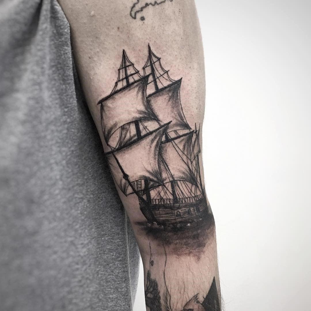 40 Telescope Tattoo Designs For Men – Stargazing Ink Ideas pictures