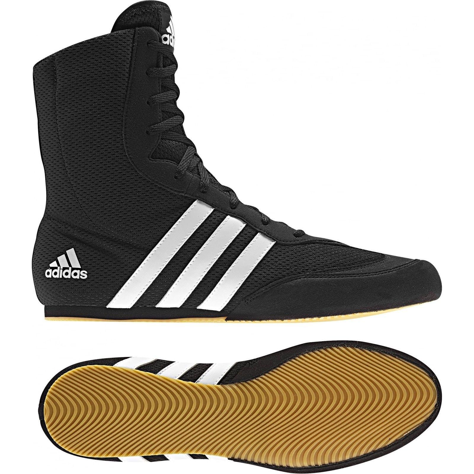 Adidas Box Hog Boxing Boots Kids & Adults - Black