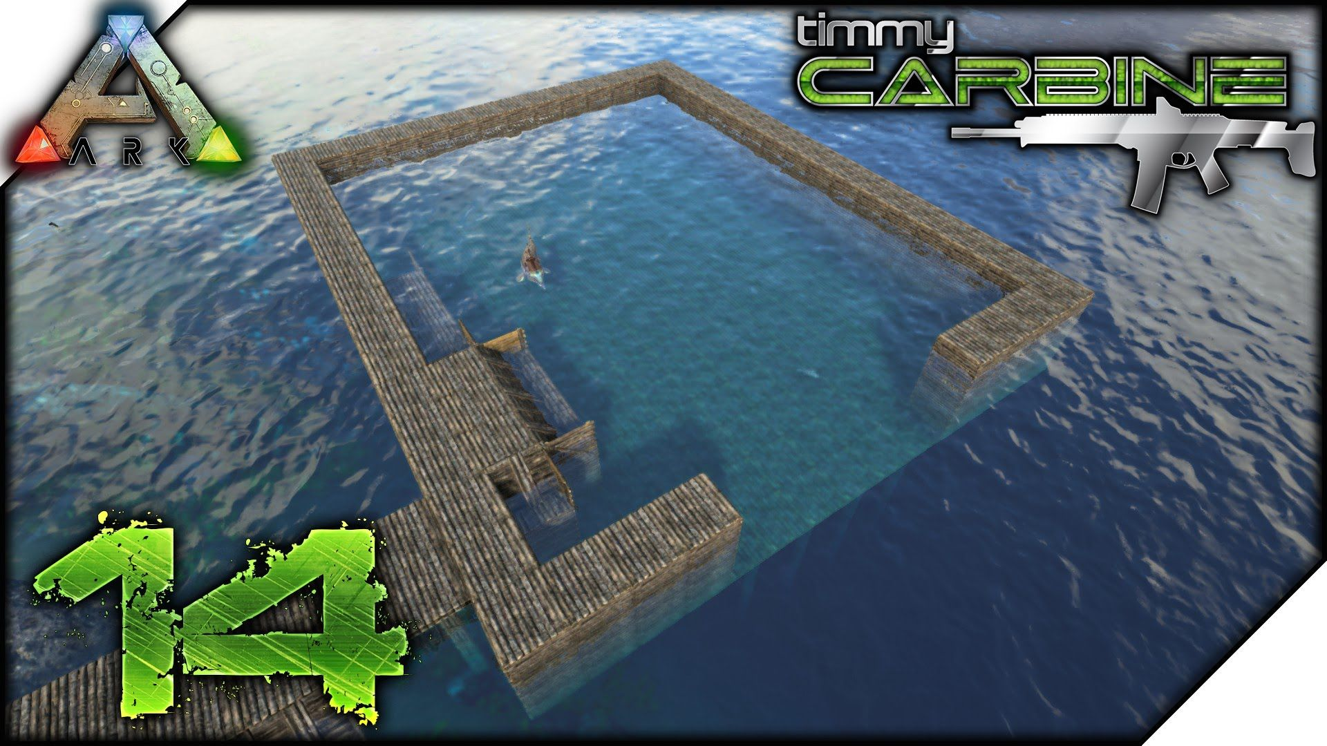 Dolphin Pool With Images Ark Survival Evolved Bases Ark