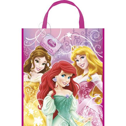 DISNEY PRINCESS TOTE BAG (12/CS) PARTY SUPPLIES