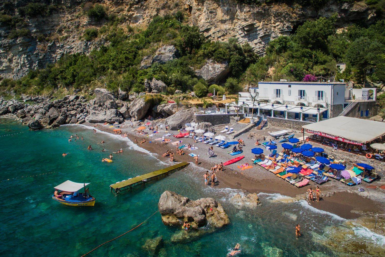 Amalfi coast nude beaches