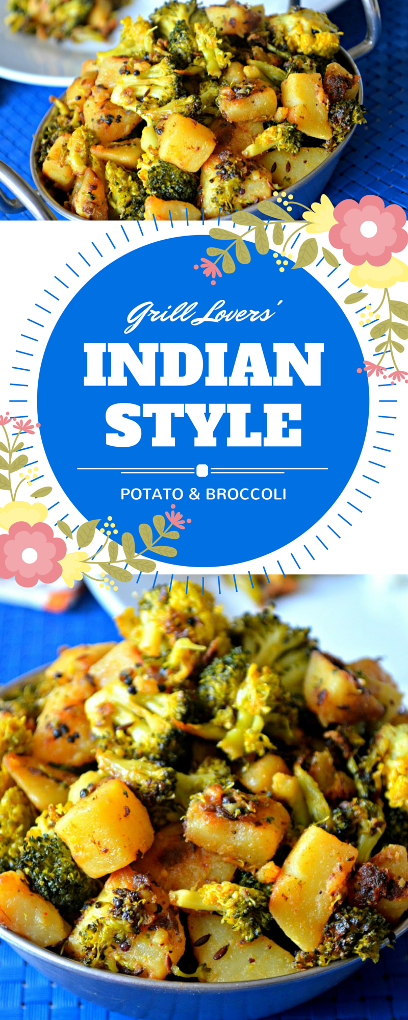 Indian style potato and broccoli recipe ready in about 15 minutes food forumfinder Image collections