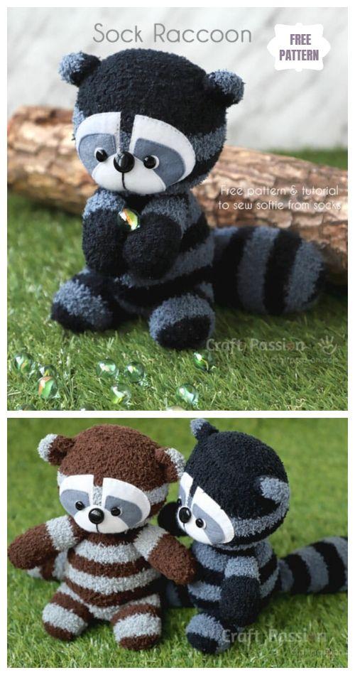 Crochet pattern raccoon amigurumi pdf tutorial raccoon pattern | Etsy | 950x500