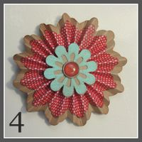 #Tonic Edger Rosettes - Border System, Doily Edger 5 Punch & Multi Detail Flower Punch