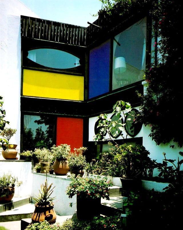Casa Grobet, San Jerónimo Lídice, Ciudad de México, 1967 x Manuel Larrosa Foto: Lisa Grobet