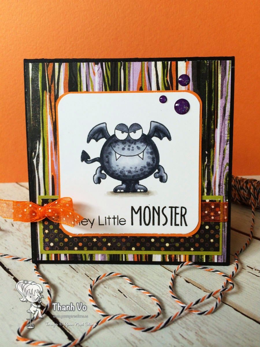 Your Next Stamp - Silly Monsters 2 And Gumdrops