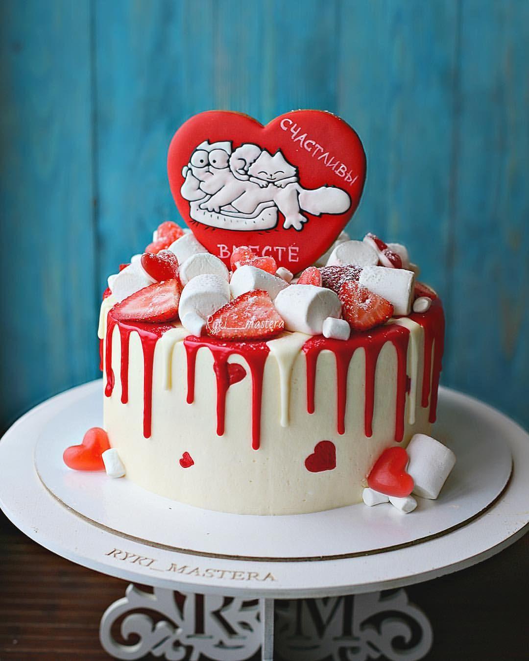 украшение торта на годовщину фото