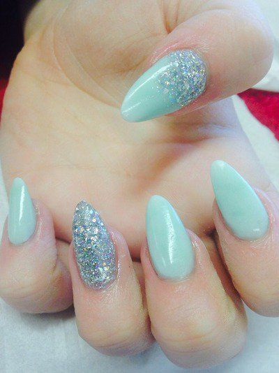 Mint is a beautiful color for hot days. With the approach of summer, the mint  nails are becoming more and more popular. In this post, we would like to  show ... - 17 Fashionable Mint Nail Designs For Summer Nails Pinterest