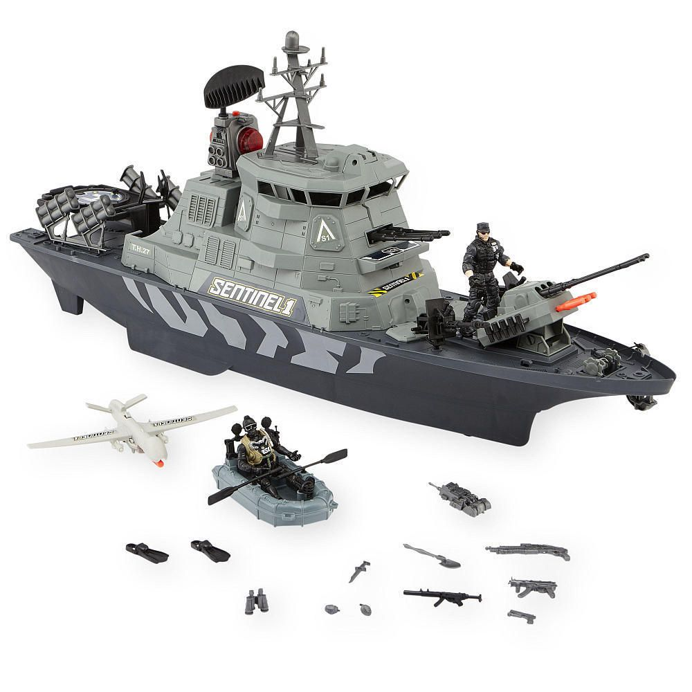 True Heroes Sentinel 1 Th 358 A Battleship Action Figures