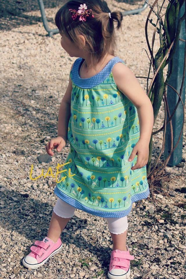 Freebook Kleid, Oberteil ab Gr. 86/92 | Crafts - Sewing Kid Dresses ...