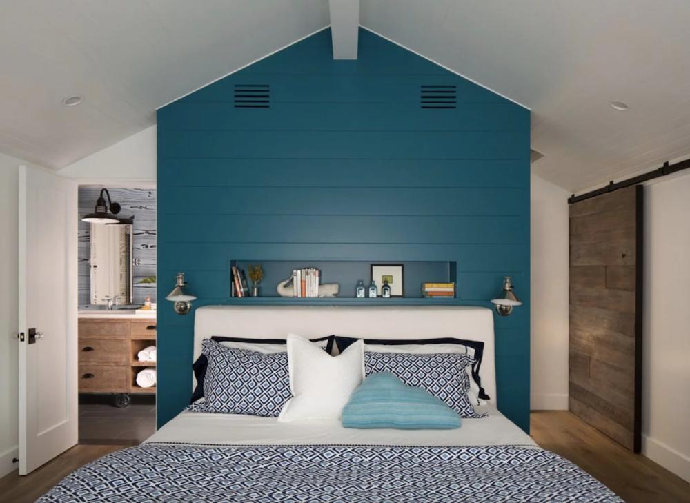 Photo of blue shiplap wall – Google Search