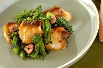 鯛のマスタード焼き  マスタードのソースは鯛によく合います。ちょっとしたおもてなしにもおすすめですよ。